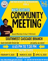 District 5 Benjamin E. Mays Cluster  Meeting
