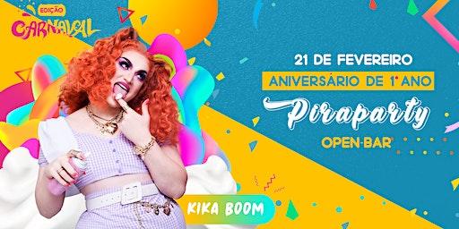 Aniversário de 1° Ano Piraparty ll Show Kika Boom