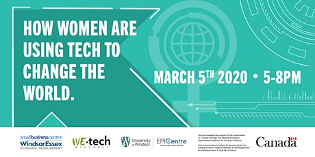 How Women are Using Tech to Change the World tickets