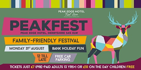 Peakfest, The Family, Fun Festival on the edge of The Peak tickets