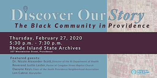 Discover Our Story: The Black Community in Providence