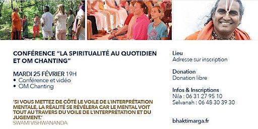 Bhakti Yoga à Strasbourg avec Swami Vijayananda - Conférence