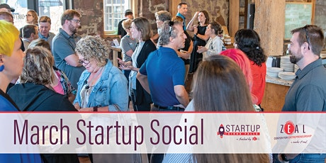 March Startup Social tickets