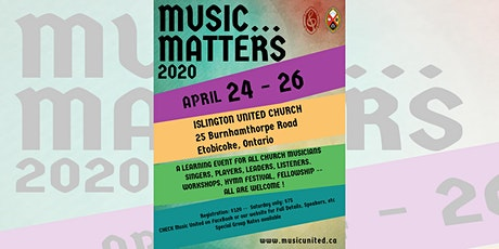Music Matters 2020 tickets