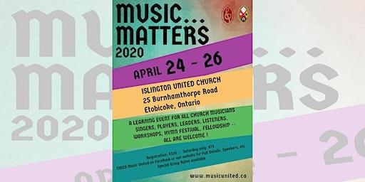 Music Matters 2020