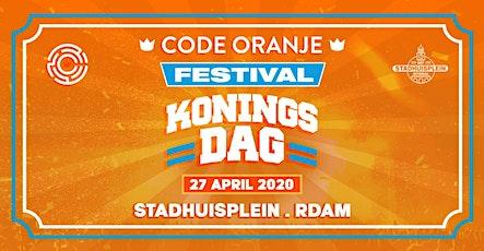 Code Oranje Festival 2020 tickets