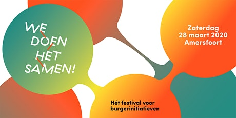 We doen het samen! festival tickets