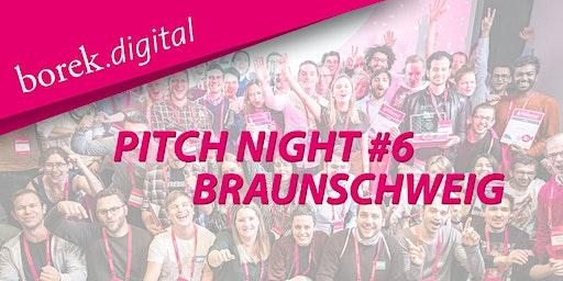 Pitch Night #6 in Braunschweig - borek.digital