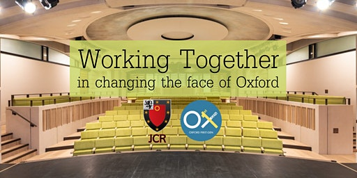 Working Together in Changing the Face of Oxford: A Panel Discussion