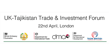 UK-Tajikistan Trade & Investment Forum tickets