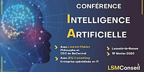 Conférence Intelligence Artificielle by LSM Conseil billets