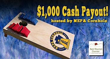 Back Mountain Chamber Cornhole Tournament hosted by NEPA Cornhole