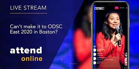 Livestreaming & Video Access | ODSC East 2020 tickets
