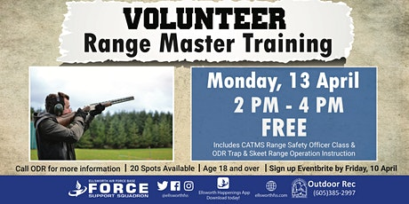 Ellsworth AFB Volunteer Range Master Training (Trap & Skeet) April 13 tickets