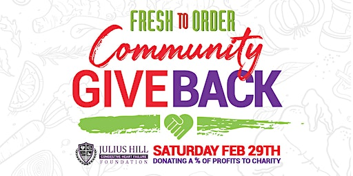 FTO-Merrillville's Community Give-Back/Julius Hill CHF Foundation