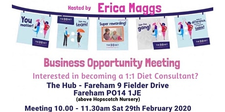 Business Opportunity Meeting & Taster Event tickets