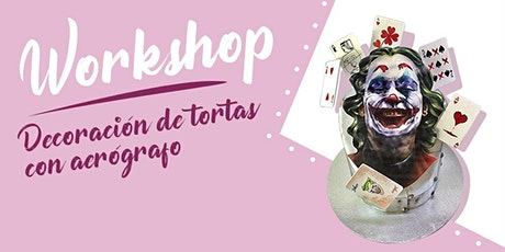 Workshop Decoración de tortas con aerógrafo entradas