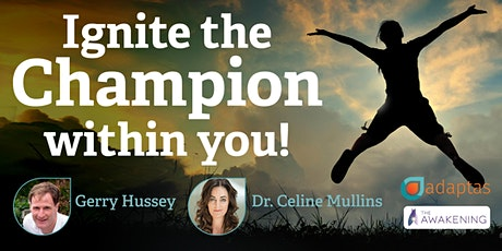Ignite the Champion within you! Evening talk for a Parent & Teenage Student tickets