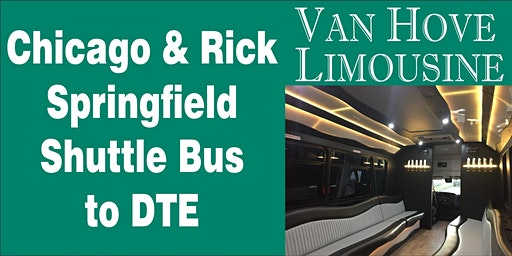 Chicago Shuttle Bus to DTE from Hamlin Pub 25 Mile & Van Dyke