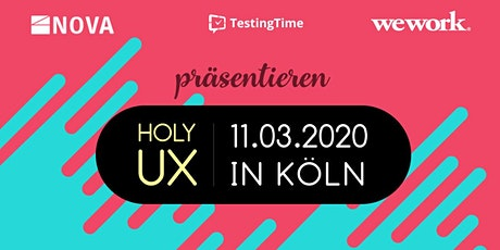 Holy UX Cologne Tickets