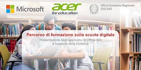MicrosoftEDU Acer USR Toscana: Percorso di formazione sulla scuola digitale biglietti