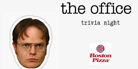 The Office Trivia Night - Milton (4 Dates) tickets