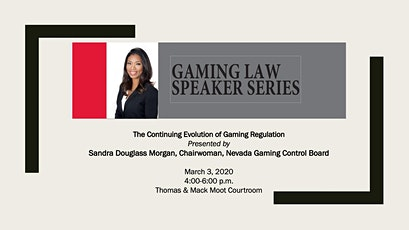 The Continuing Evolution of Gaming Regulation with Sandra Douglass Morgan tickets