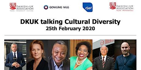DKUK talking Cultural Diversity tickets