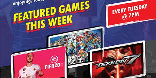 Esports Game Night - Super Smash Bros &  Tekken Tournaments (Long Island)