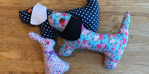 Holiday Makers - Sewing Machine Dotty Dogs & Bouncy Bunnies