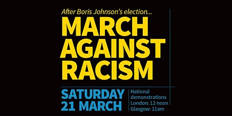 March Against Racism: UN anti-racism day protest (Unite West Midlands) tickets