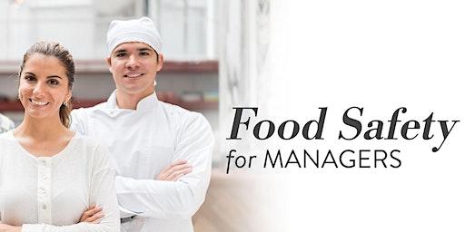 Food Safety for Managers ServSafe