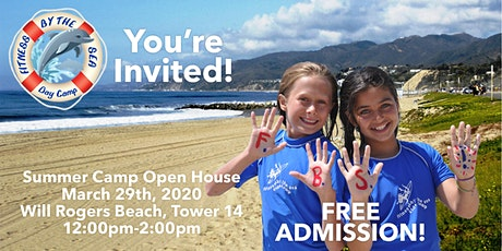 Fitness by the Sea Kids Camp 2020 Open House - Sunday, March 29, 2020 tickets