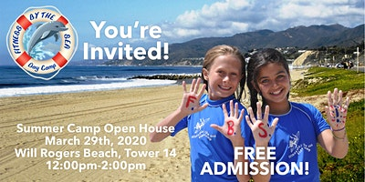Fitness by the Sea Kids Camp 2020 Open House - Sunday, March 29, 2020