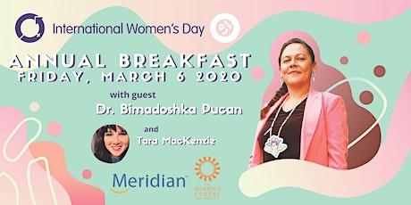International Women's Day Annual Breakfast tickets