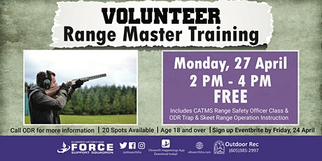 Ellsworth AFB Volunteer Range Master Training (Trap & Skeet) April 27 tickets