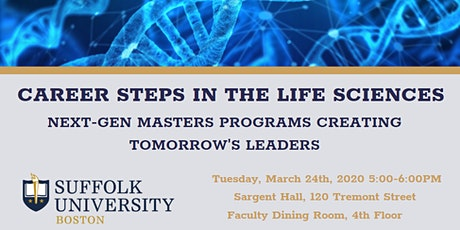 Career Steps in the Life Sciences tickets