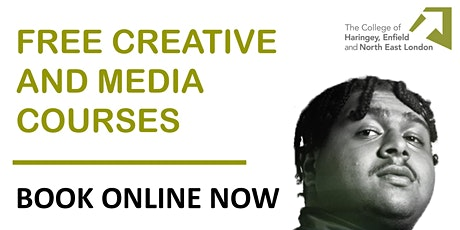 Digital Media Production courses - Music Production FREE COURSE tickets