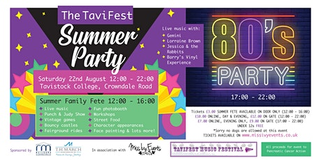 The TaviFest Summer Party tickets