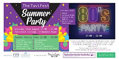 The TaviFest Summer Party tickets