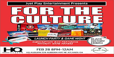 For The Culture ATL tickets