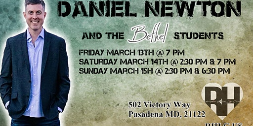 Daniel Newton and the Bethel Students