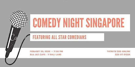 Comedy Night Singapore