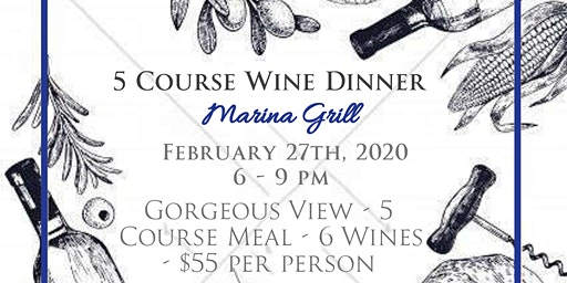 Wine Dinner w/ Guest Chef Marshall Beatty