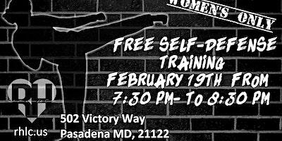Women's Only Self Defense Training