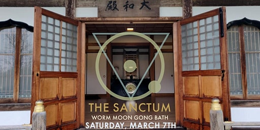 Worm Moon Astro Gong Bath