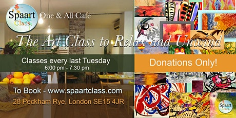Spaart Class, The Art Class at One & All Cafe tickets