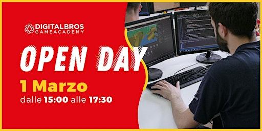 Open Day Digital Bros Game Academy