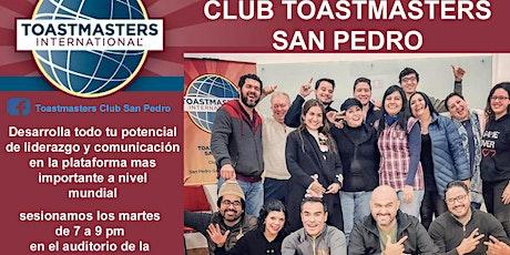 CLUB TOASTMASTERS SAN PEDRO entradas