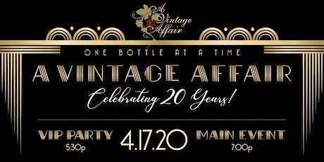 A Vintage Affair's 20th Anniversary Celebration: The Roaring Twenties tickets
